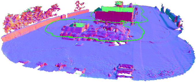 Figure 1 for Voxgraph: Globally Consistent, Volumetric Mapping using Signed Distance Function Submaps