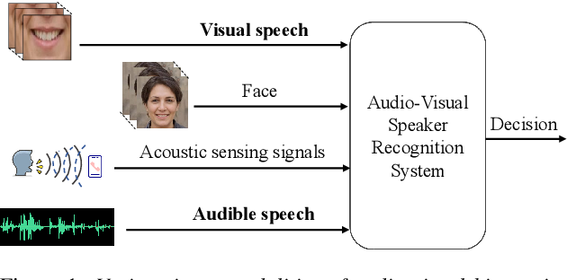Figure 1 for Exploring Deep Learning for Joint Audio-Visual Lip Biometrics