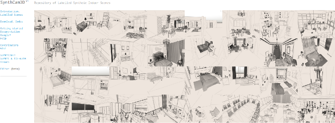 Figure 2 for SynthCam3D: Semantic Understanding With Synthetic Indoor Scenes