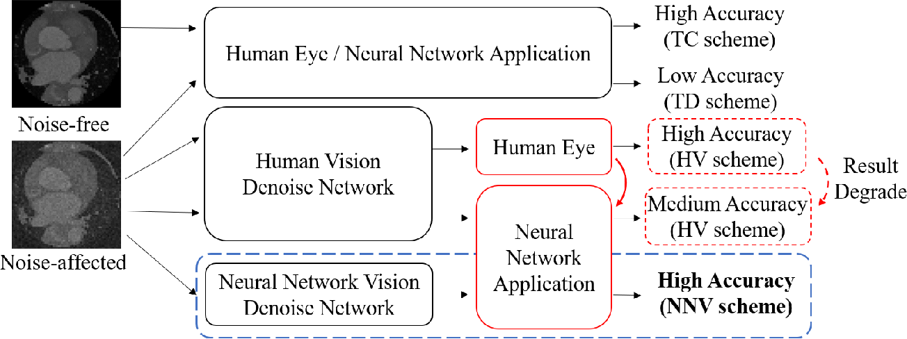 Figure 2 for Do Noises Bother Human and Neural Networks In the Same Way? A Medical Image Analysis Perspective
