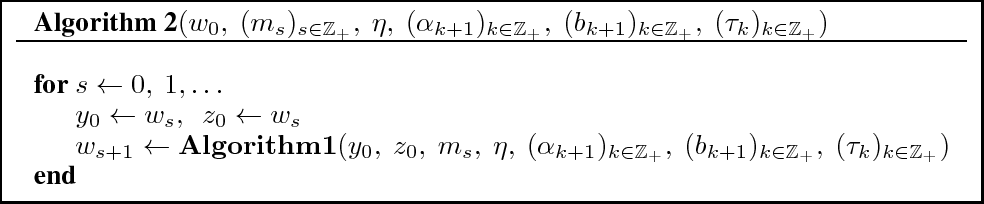 Figure 3 for Accelerated Stochastic Gradient Descent for Minimizing Finite Sums