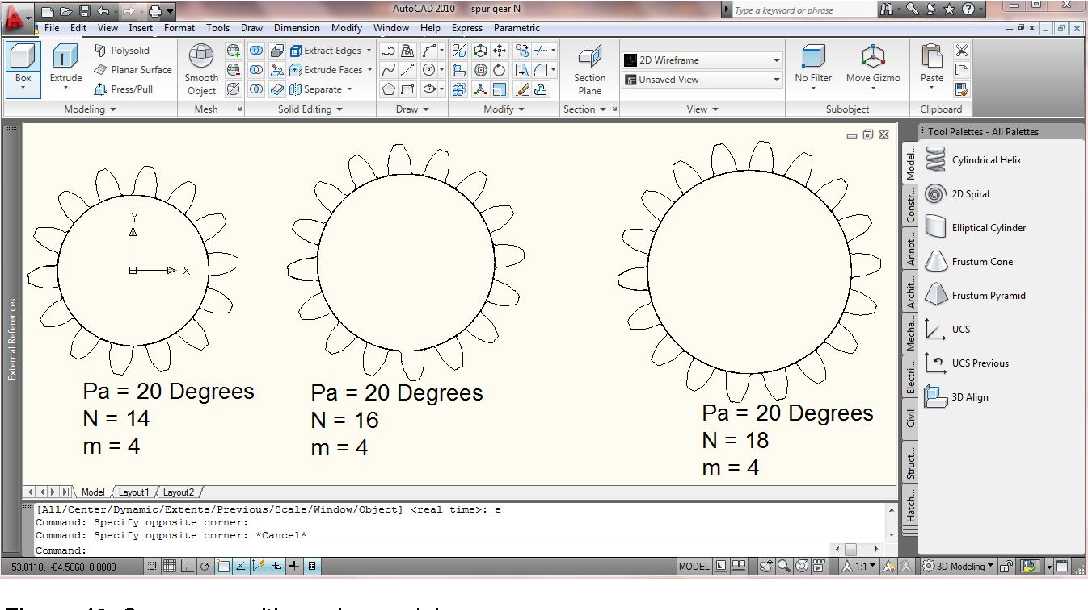 Figure 2 from Drafting of involute spur-gears in AutoCAD-VBA