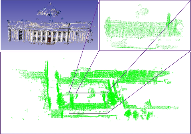 Figure 1 for A coarse-to-fine algorithm for registration in 3D street-view cross-source point clouds
