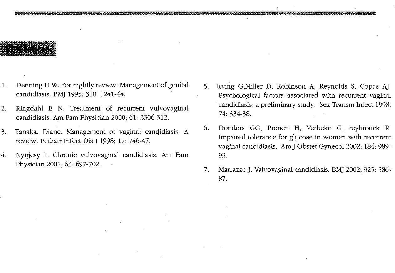 PDF] Recurrent vaginal candidiasis  - Semantic Scholar