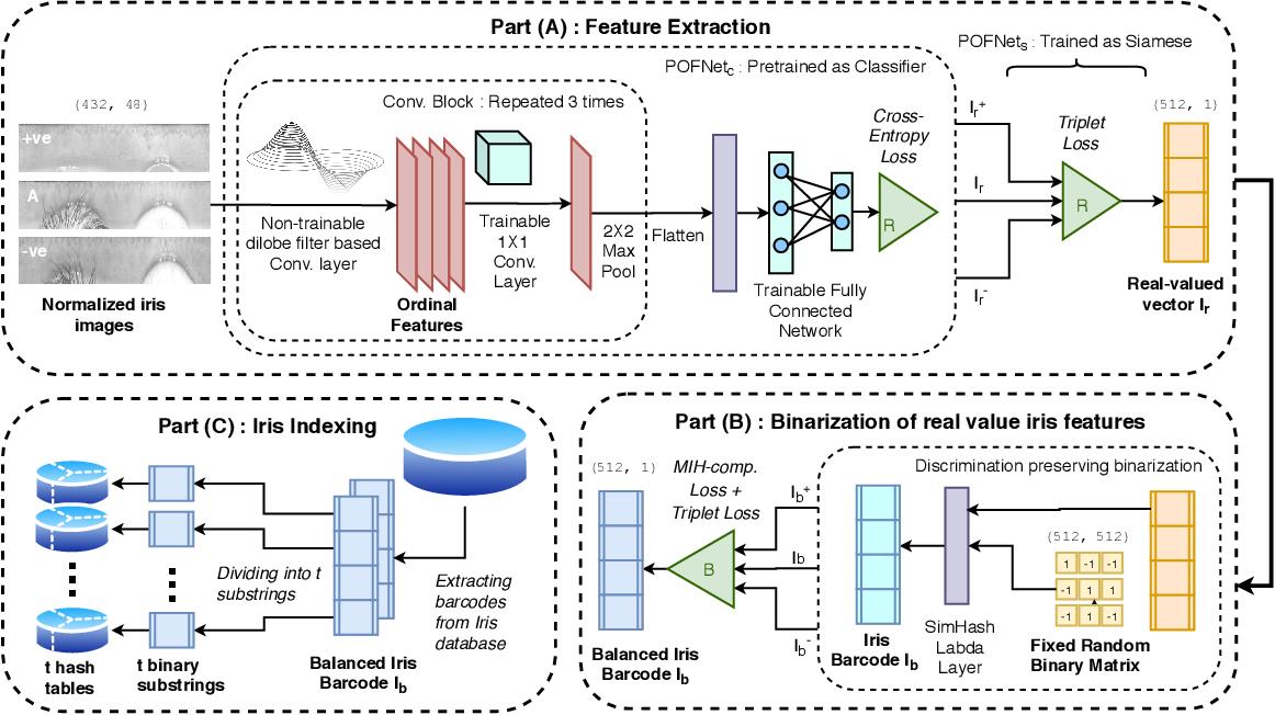 Figure 2 for IHashNet: Iris Hashing Network based on efficient multi-index hashing