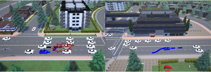 Figure 1 for Task-Motion Planning for Safe and Efficient Urban Driving