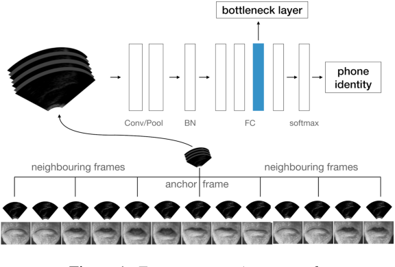 Figure 1 for Silent versus modal multi-speaker speech recognition from ultrasound and video