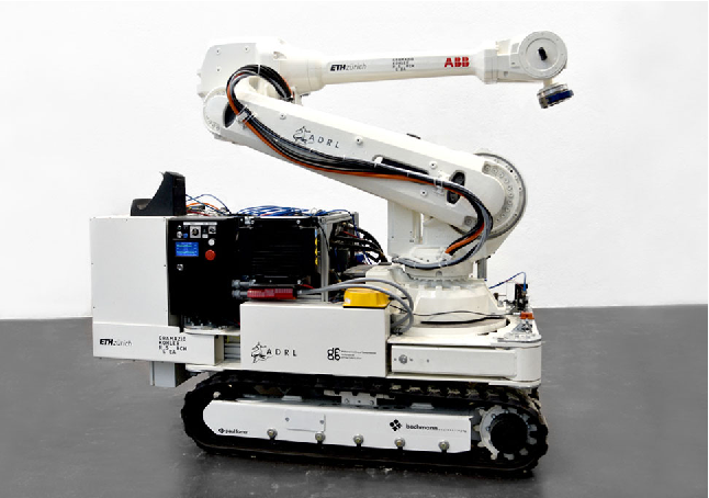 Figure 1 for Mobile Robotic Fabrication at 1:1 scale: the In situ Fabricator