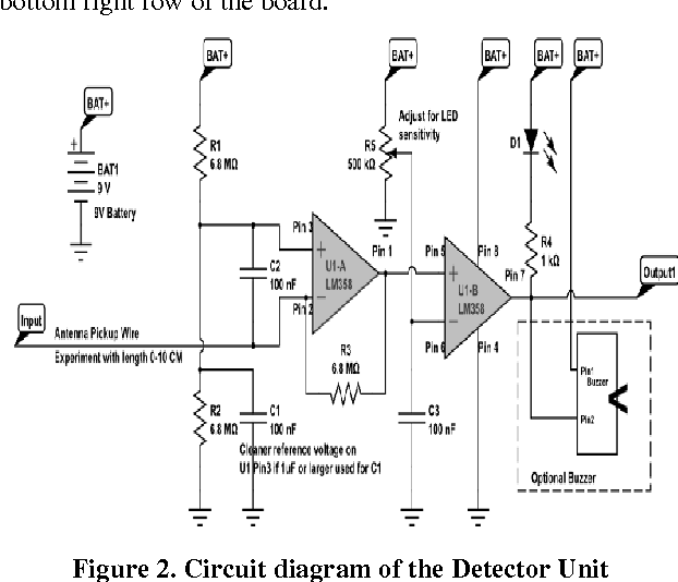 Figure 2 from the design and implementation of a mobile phone circuit diagram of the detector unit ccuart Images