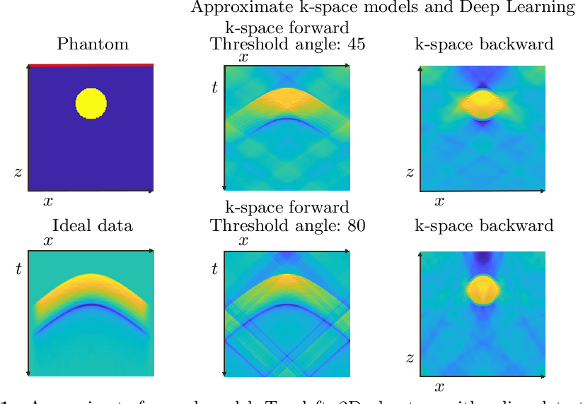 Figure 1 for Approximate k-space models and Deep Learning for fast photoacoustic reconstruction
