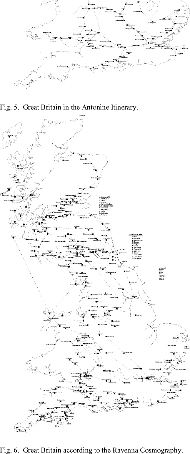 Figure 7 from Ptolemy's Britain and Ireland: A New Digital