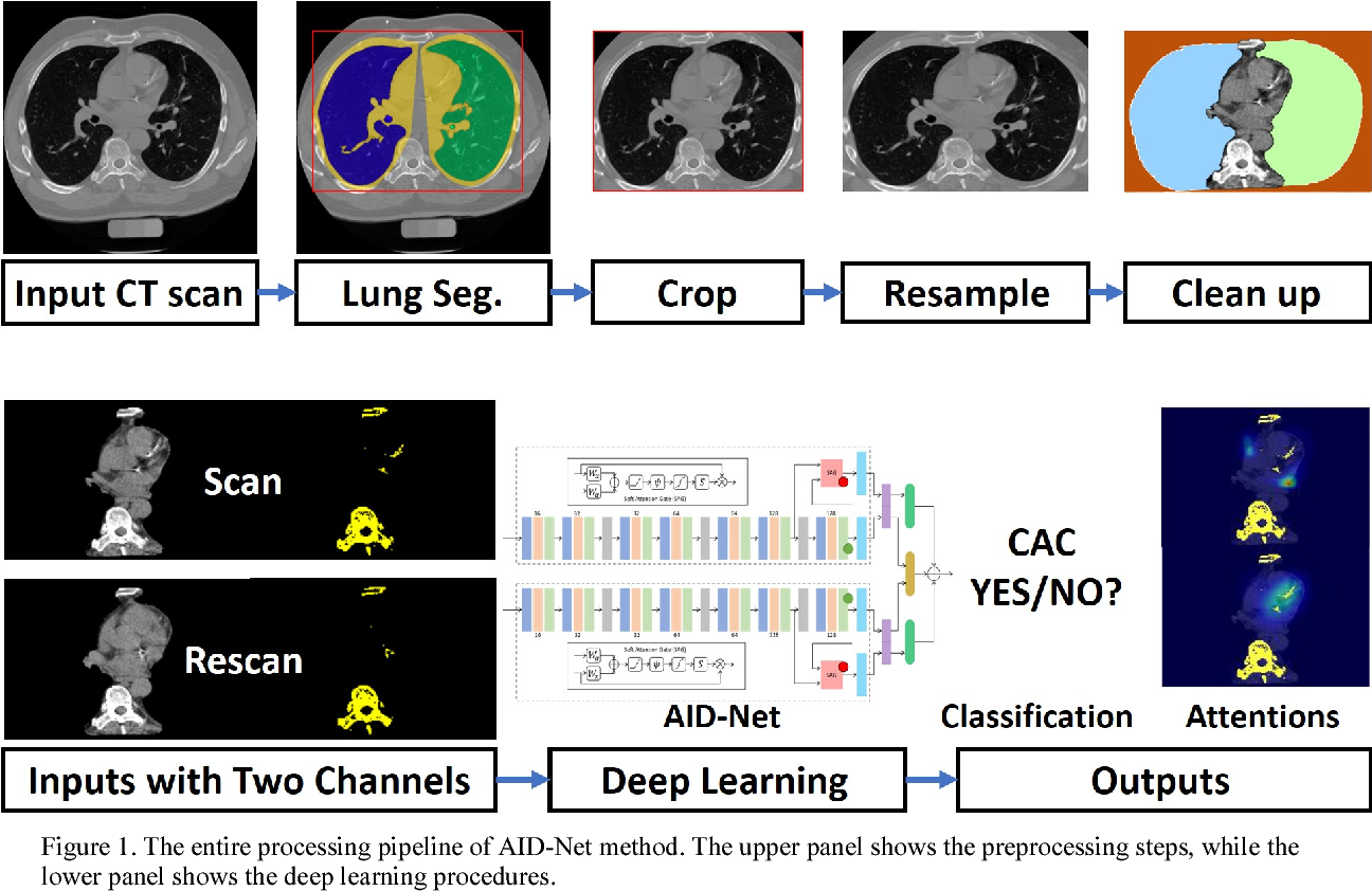 Figure 1 for Coronary Calcium Detection using 3D Attention Identical Dual Deep Network Based on Weakly Supervised Learning
