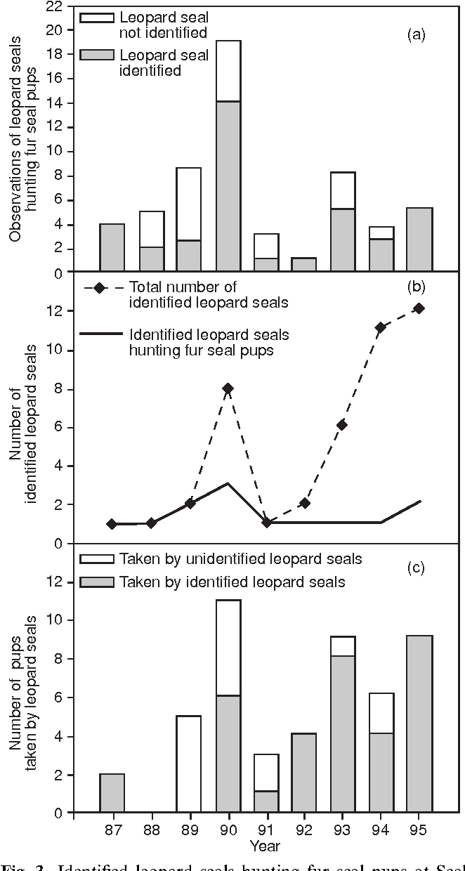 Figure 3 from Hunting and social behaviour of leopard seals ...