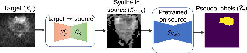 Figure 4 for Unsupervised Domain Adaptation with Semantic Consistency across Heterogeneous Modalities for MRI Prostate Lesion Segmentation