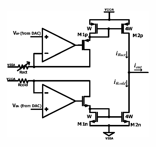 Figure 3 from An analog front-end IC with regulated R-I amplifier