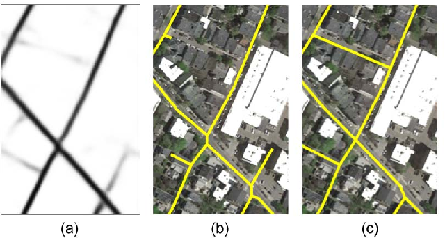 Figure 3 for RoadTracer: Automatic Extraction of Road Networks from Aerial Images