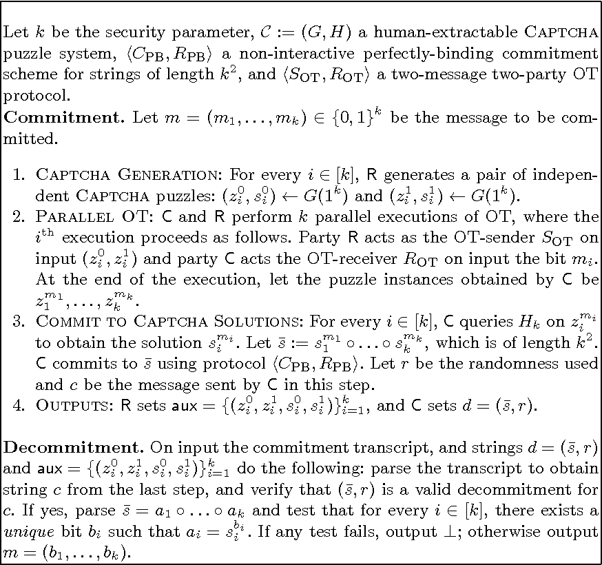 Figure 1 from Cryptography Using CAPTCHA Puzzles - Semantic