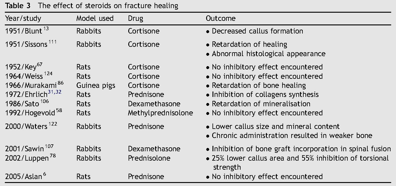 how does weight bearing influence bone repair