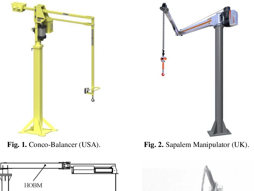 Figure 1 for Key Features of the Coupled Hand-operated Balanced Manipulator (HOBM) and Lightweight Robot (LWR)