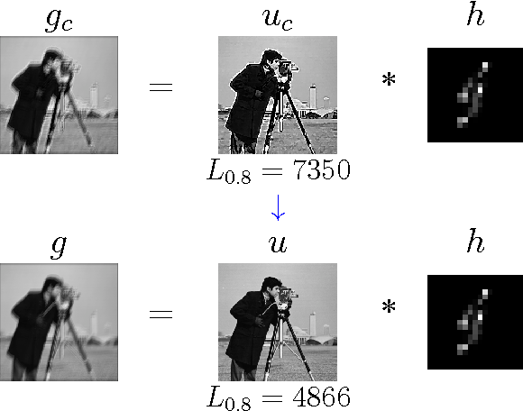 Figure 1 for Fast and easy blind deblurring using an inverse filter and PROBE