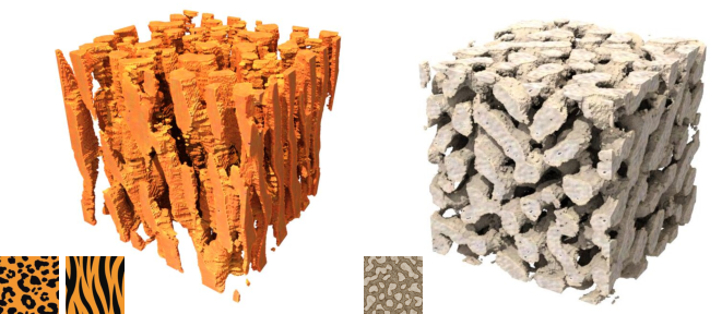 Figure 1 for Solid Texture Synthesis using Generative Adversarial Networks