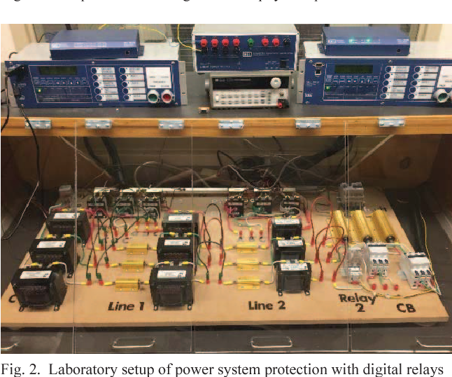 Power system protection education and digital relay training based