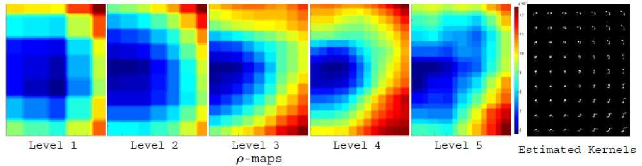 Figure 4 for Non-Uniform Blind Deblurring with a Spatially-Adaptive Sparse Prior