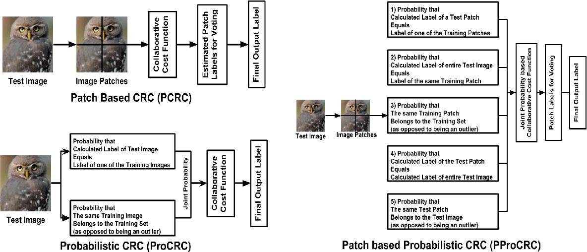 Figure 1 for PProCRC: Probabilistic Collaboration of Image Patches