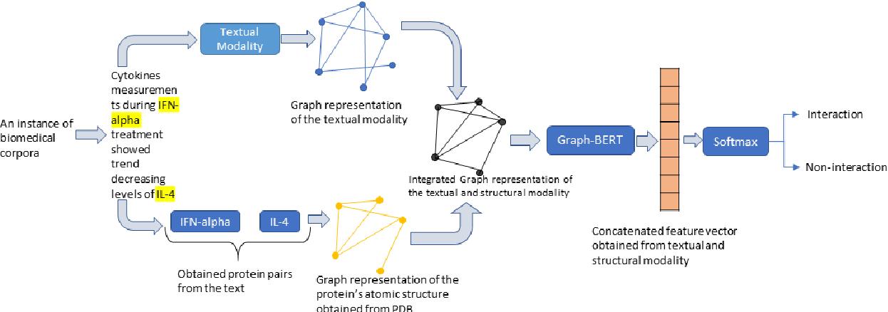 Figure 1 for Multimodal Graph-based Transformer Framework for Biomedical Relation Extraction