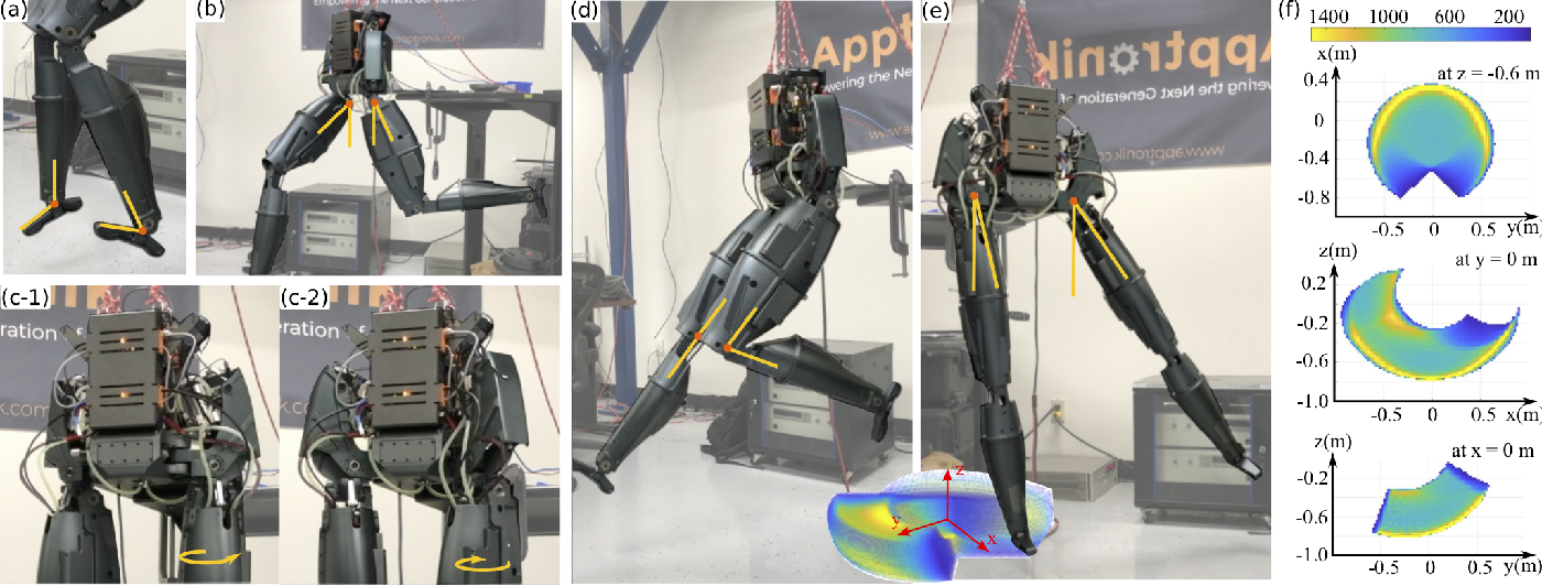 Figure 2 for Control of A High Performance Bipedal Robot using Viscoelastic Liquid Cooled Actuators