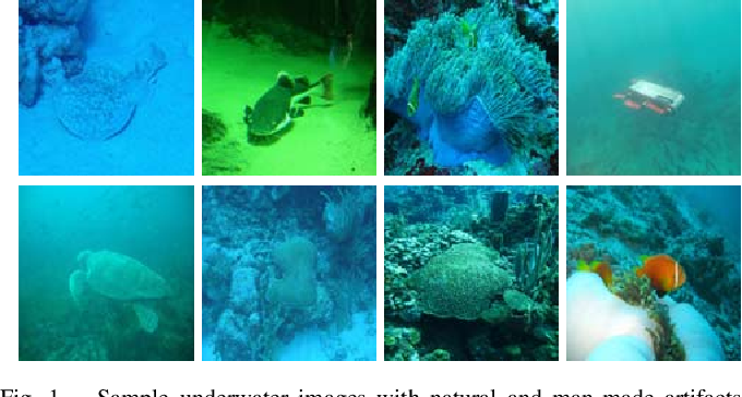 Figure 1 for Enhancing Underwater Imagery using Generative Adversarial Networks