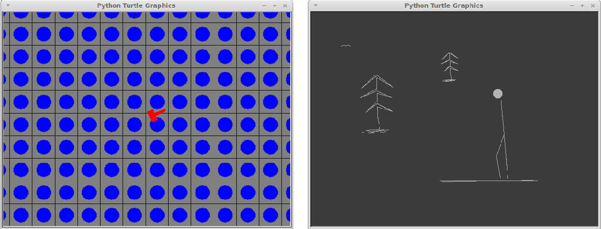 Figure 4 from A Game Engine in Pure Python for CS1: Design