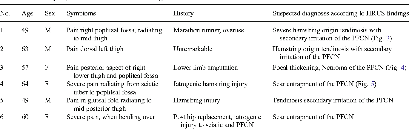 Structure of posterior femoral cutaneous nerve - Semantic Scholar