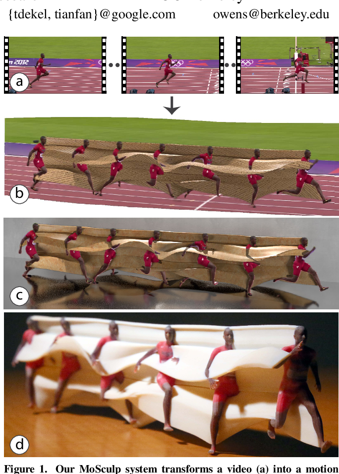 Figure 1 for MoSculp: Interactive Visualization of Shape and Time