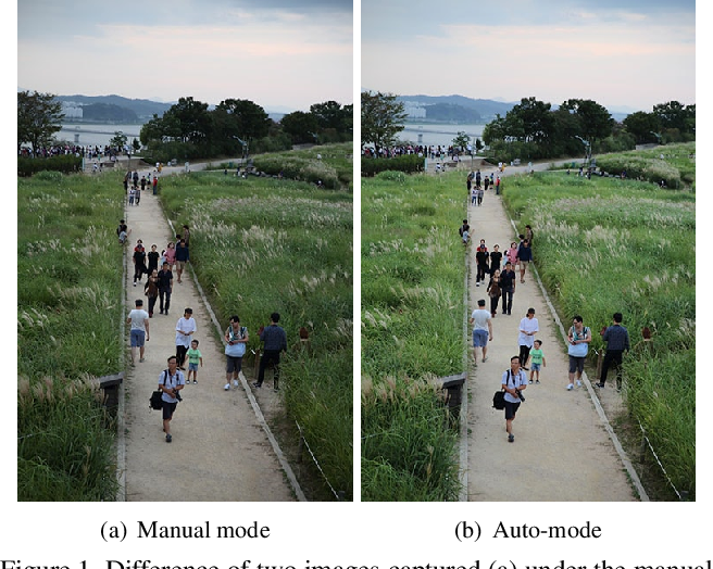 Figure 1 for Modelling the Scene Dependent Imaging in Cameras with a Deep Neural Network