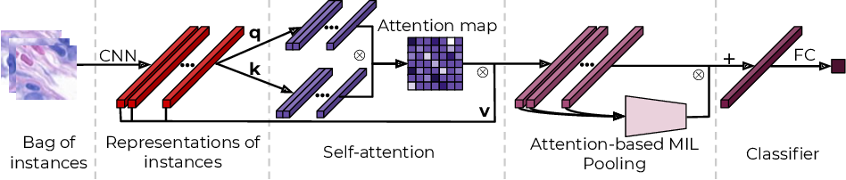 Figure 3 for Kernel Self-Attention in Deep Multiple Instance Learning