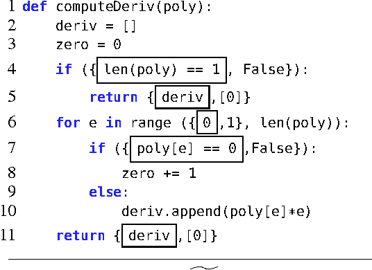 Figure 4 for Automated Feedback Generation for Introductory Programming Assignments