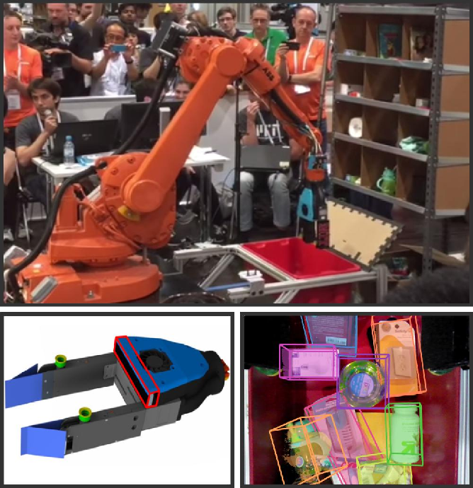 Figure 1 for Multi-view Self-supervised Deep Learning for 6D Pose Estimation in the Amazon Picking Challenge
