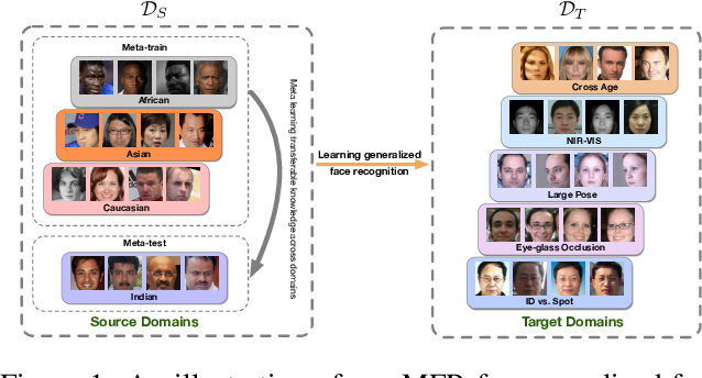 Figure 1 for Learning Meta Face Recognition in Unseen Domains