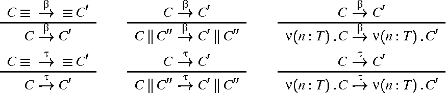 Figure 8. Axioms for reduction precongruence