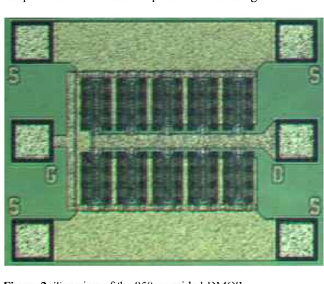 Power Characteristics of High Voltage LDMOS Transistors
