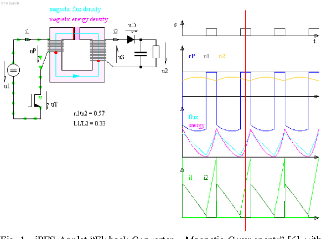 new circuit simulation applets for online education in power