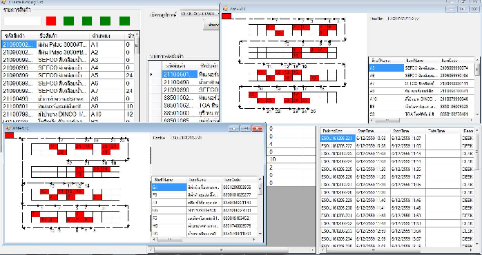 Routing algorithm in warehouse with congestion consideration using
