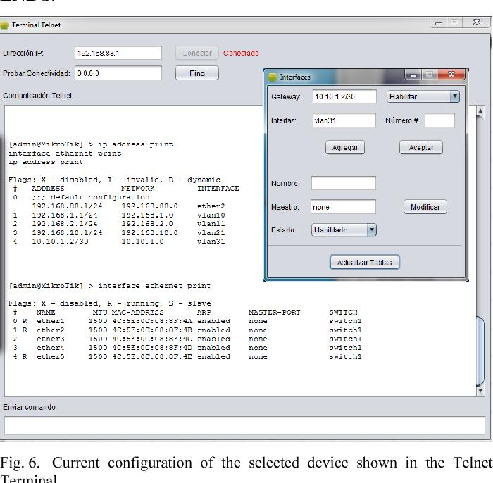 Cross-platform network visualization software for MikroTik