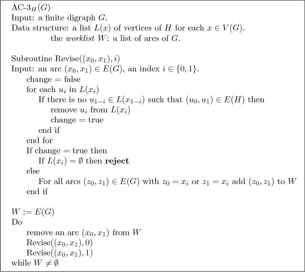 PDF] Graph Homomorphisms and Universal Algebra Course Notes