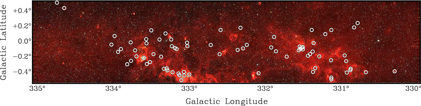 Figure 9 From Malt 45 A 7 Mm Survey Of The Southern Galaxy I