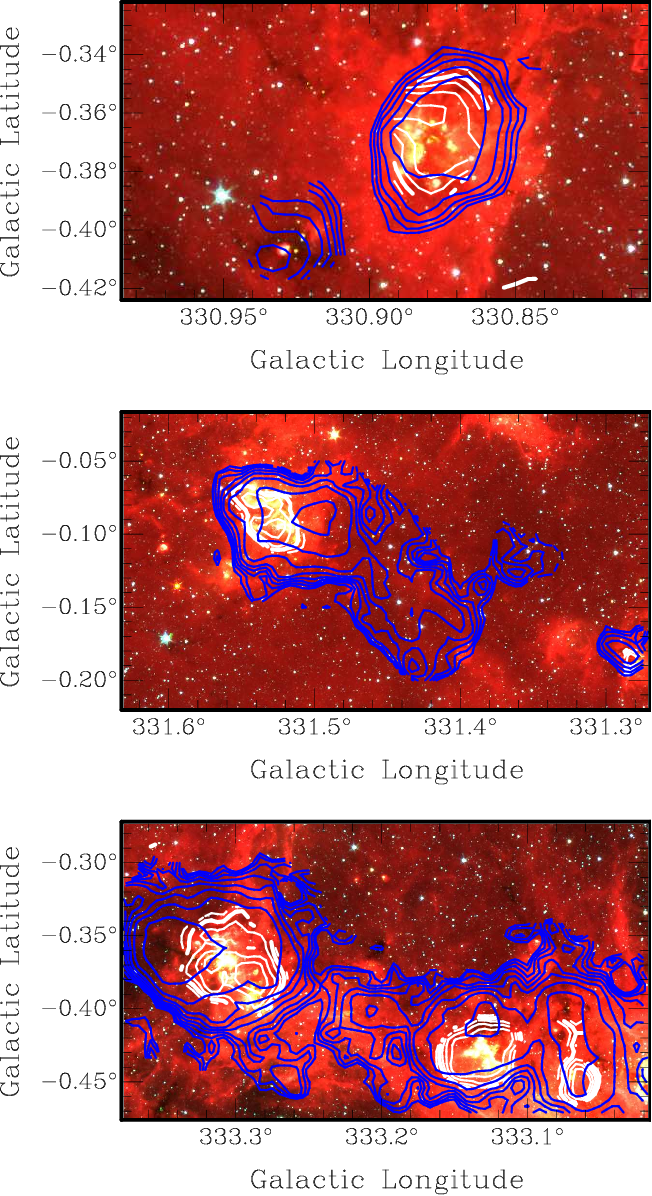 Figure 11 From Malt 45 A 7 Mm Survey Of The Southern Galaxy I