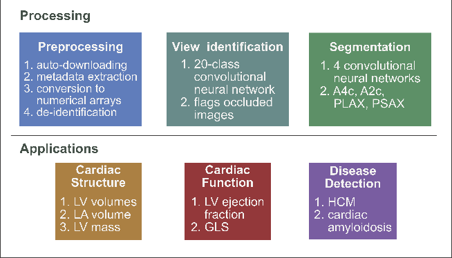 Figure 1 for A Computer Vision Pipeline for Automated Determination of Cardiac Structure and Function and Detection of Disease by Two-Dimensional Echocardiography