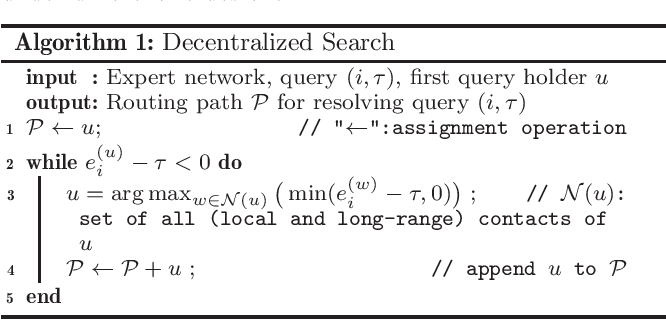 Figure 2 for Query Answering via Decentralized Search