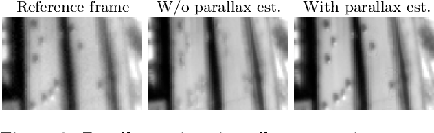 Figure 3 for Parallax estimation for push-frame satellite imagery: application to super-resolution and 3D surface modeling from Skysat products